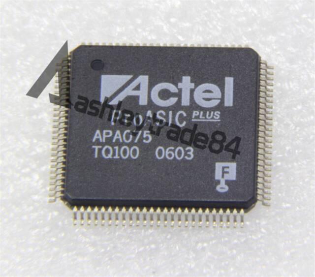 New Manufacturer:ACTEL MPN:APA075-TQ100 Encapsulation:TQFP