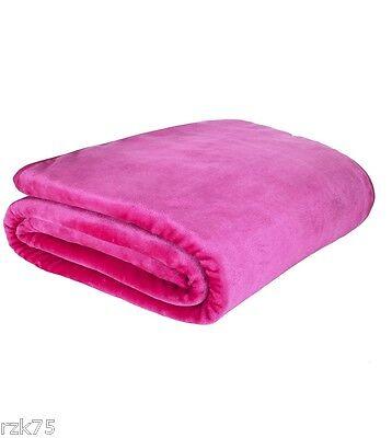 Luxury Mink Fur Sofa Bed Throw, Super Soft Fur Blanket Settee Throws, Big Sizes