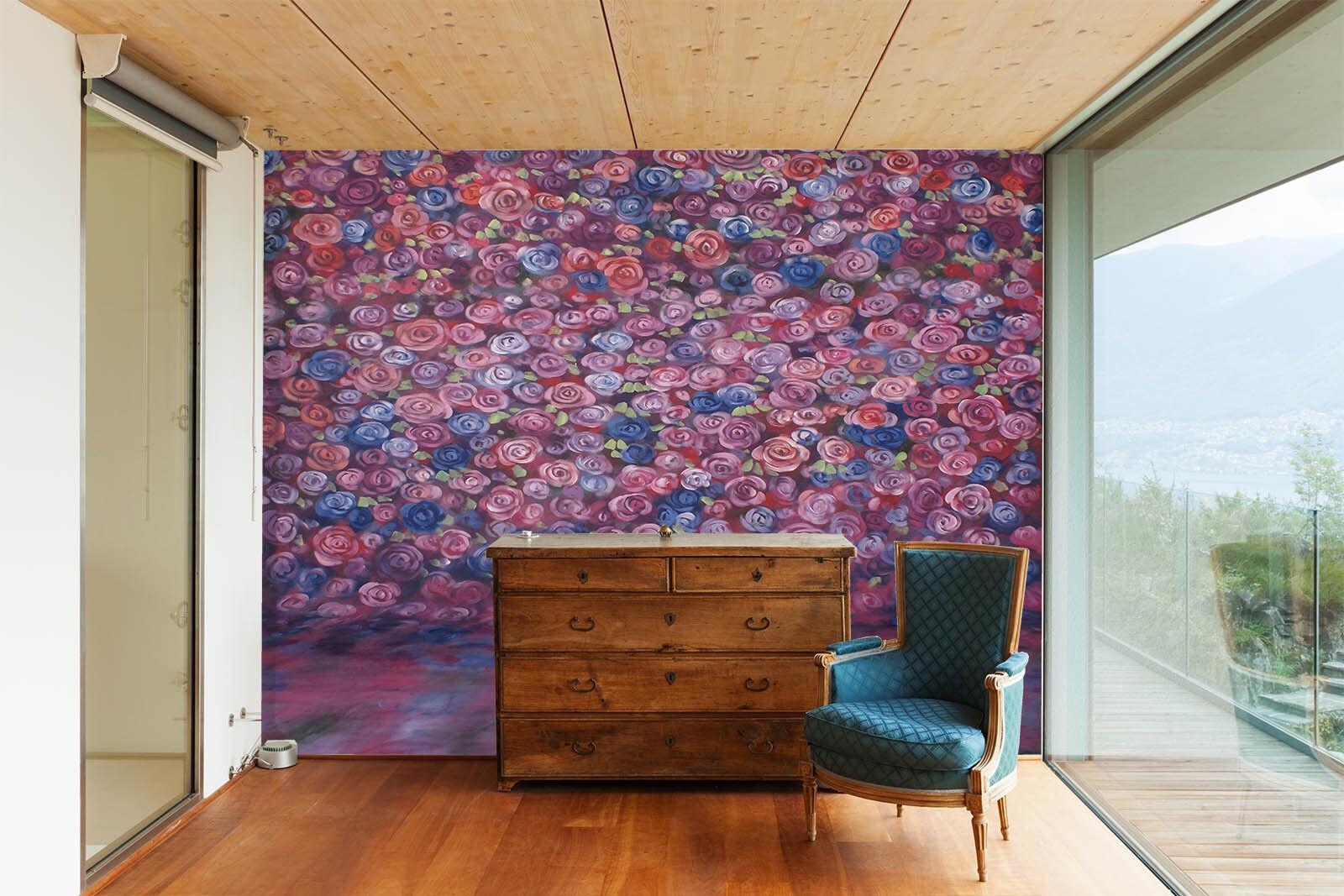 3D Bubble Farbe 436 Wallpaper Murals Wall Print Wall Mural AJ WALL AU Summer