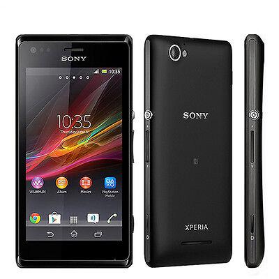 "Sony Xperia M C1905 4.0"" Original Unlocked 3G Wifi NFC 5MP Smartphone Free Ship"