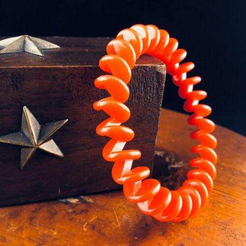 Vintage 80s Hard Plastic Phone Cord Bangle Bracele