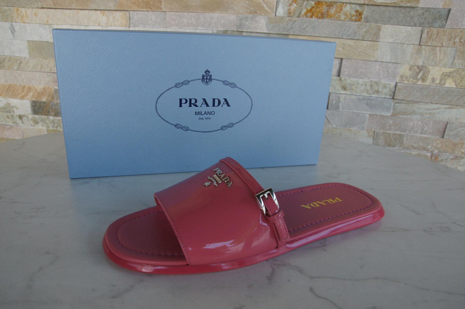 Prada talla 38 sandalias zapatos sandalias 1xx301 charol Begonia Begonia Begonia nuevo ex. PVP  El nuevo outlet de marcas online.