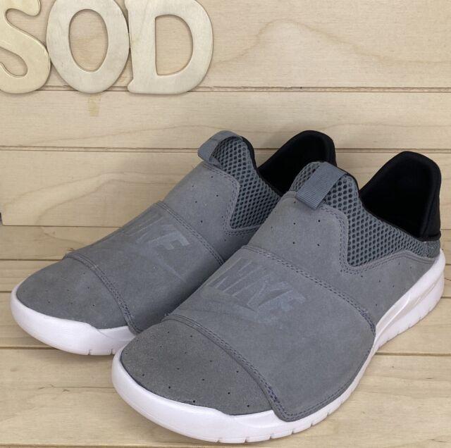 Nike Air Benassi Slip on Grey Gray