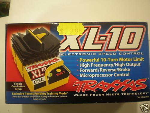 Traxxas XL-10 7.2V adelante reversa Frenos Esc 3016 Nuevo En Caja