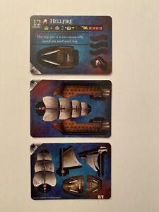 Pirates Wizkids CSG Pocketmodel HELLFIRE New & Unpunched Davy Jones Curse