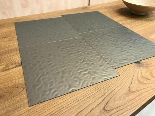 4,18 m² Design Vinyl Amtico LQ44 bronce metallisch Wellen 3D Effekt Boden Belag
