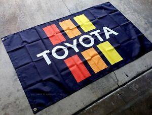 Toyota-Flag-3x5-ft-Banner-Vintage