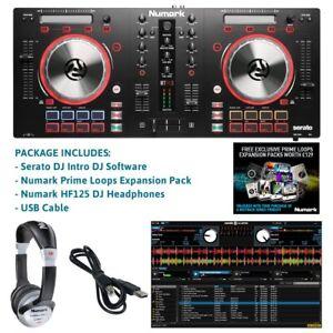 Numark-Mixtrack-Pro-3-USB-DJ-Controller-Pro-DJ-Headphones-amp-Serato-DJ-Software