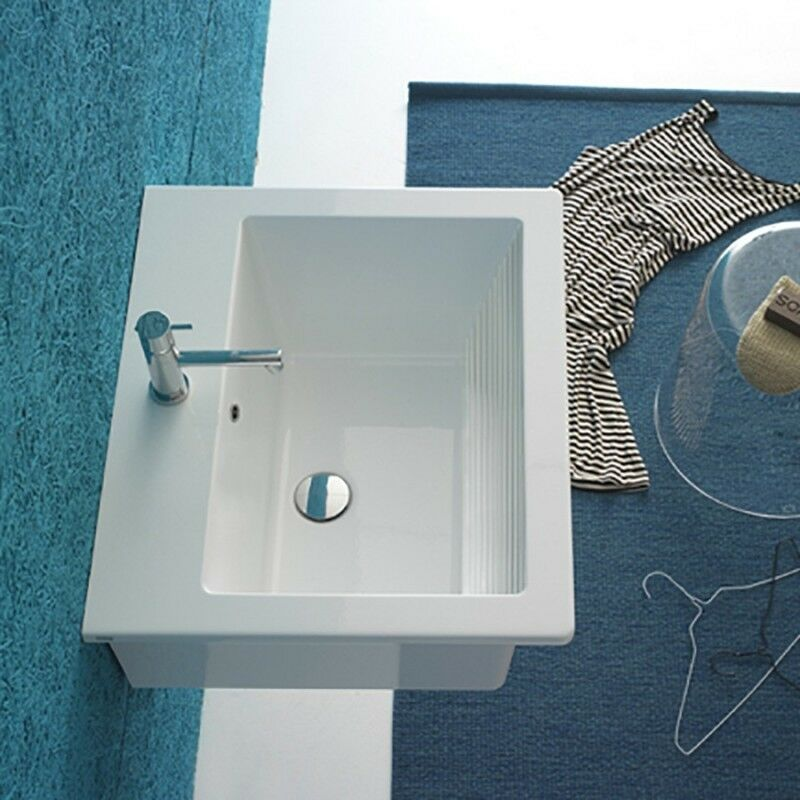 Lavabatoio Sospeso Ceramica Globo Forty3 60x47 FO063.BI
