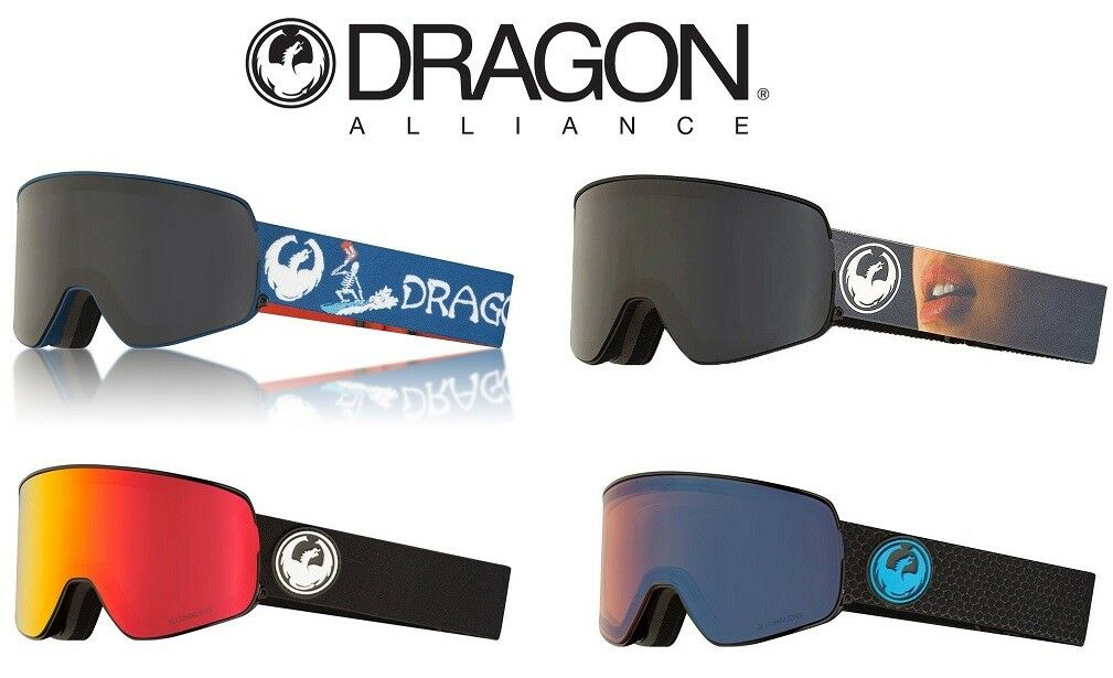 Dragon Alliance NFX2 Snowboard   Ski Goggles, Viele Farben, Brand NEW Preis des Verkaufs