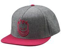 Spitfire Bighead Skateboard Snapback Hat Chambrey/maroon on sale