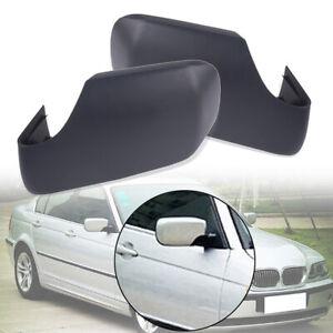 Left-Right-Side-Mirror-Cover-Caps-Set-For-BMW-E46-E39-325i-330i-525i-530i-540i