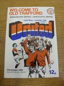 27-10-1976-Manchester-United-v-Newcastle-United-Football-League-Cup-token-rem