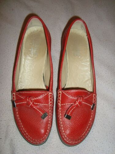 Uk 00 Eu £89 scarpe 8 Red Leather Us 6 Rrp 5 40 Hotter 5 FZW16qZT