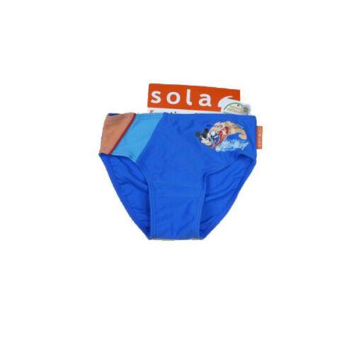 Solar maillot de bain Mickey Mouse Bleu Enfants maillot de bain garçon taille 104