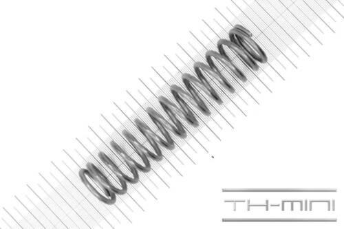 Länge: 117mm Außen Ø: 27mm Druckfeder Drahtstärke: 3mm Edelstahl