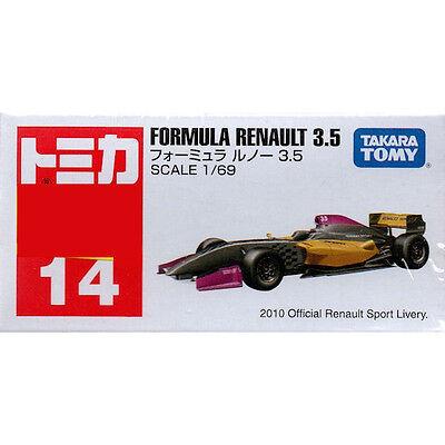 Takara Tomy Tomica #14 Formula Renault 3.5 1/69 Diecast Toy Car JAPAN FS