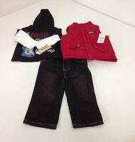 Kids Headquarters Boys 3pc Vest Set Rock N Roll 12m $50