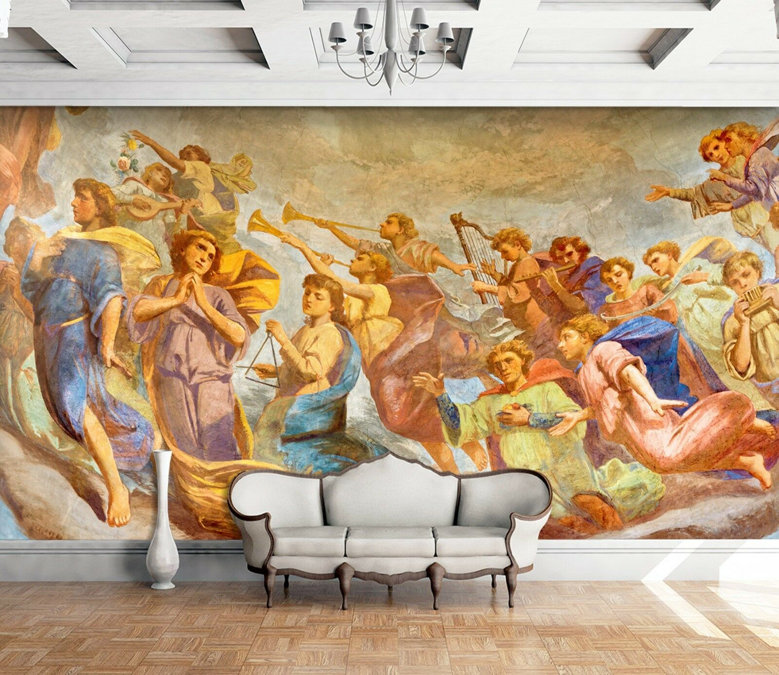 3D Classical Figure Paint 4 Wall Paper wall Print Decal Wall Deco Indoor Mural