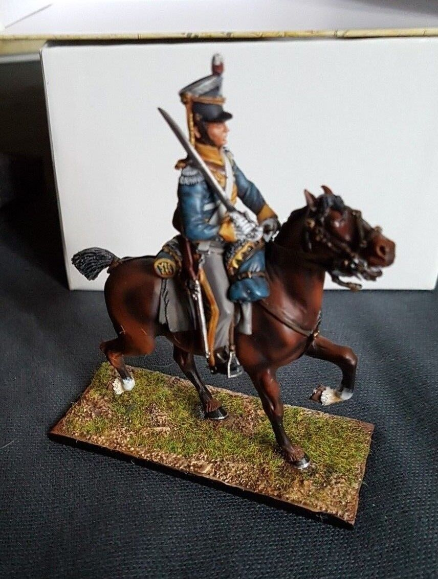 First Legion  NAP0202 - Mtd. British 12th Light Dragoons Trooper with Sabre