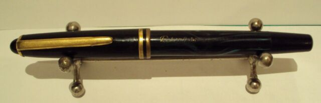 VINTAGE MARBLED BAKELIT RUSSIAN  FOUNTAIN PEN