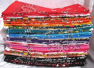 CompéTent Bandana Paisley 100% Coton Foulard Tête De Couvre-chefs Cheveux Bande Poignet Wrap Cravate-afficher Le Titre D'origine