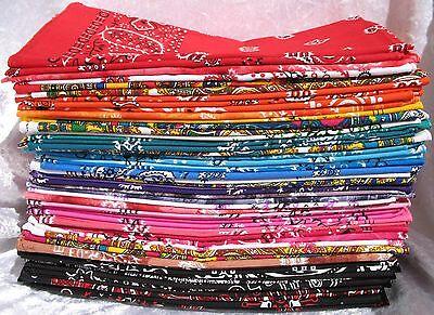 Paisley Bandana 100% Cotton Scarf Headwear Head Hair Band Wrist Wrap Neck Tie Einen Effekt In Richtung Klare Sicht Erzeugen