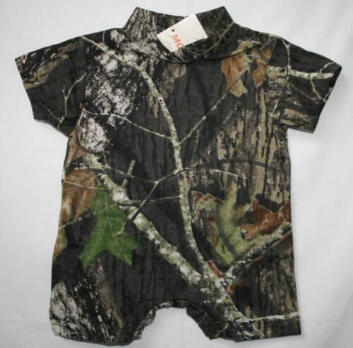 Mossy Oak Camo Baby Romper Infant Boy/'s Camouflage