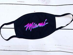 Miami Heat 305 Face Mask Ebay
