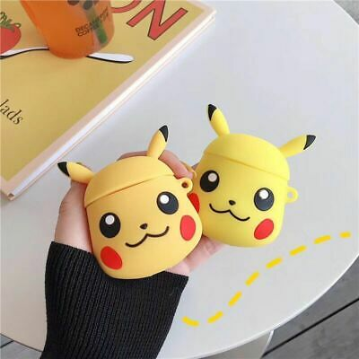 airpods protective case pokemon pikachu