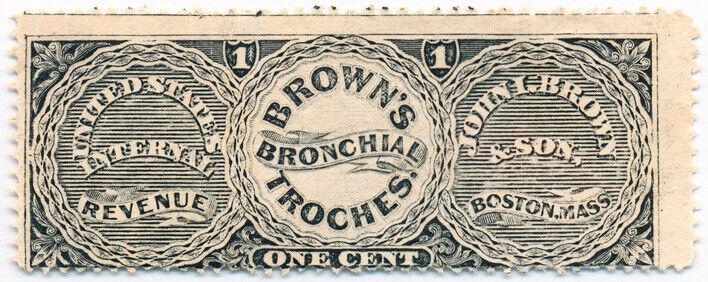 John I. Brown & Son U.S. Internal Revenue 1c RS39d Priv