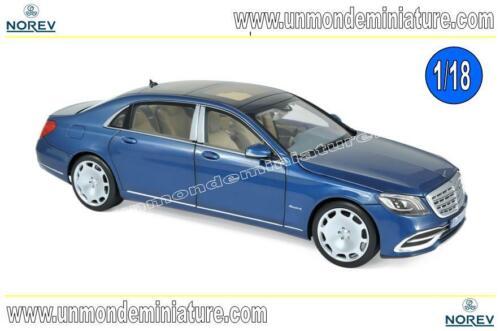 Mercedes-Maybach S 650 2018 Blue metallic NOREV Echelle 1//18 NO 183425