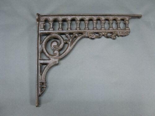 Regal Konsole Wandkonsole Regalträger Haken Gusseisen  27 cm x 23 cm Winkel