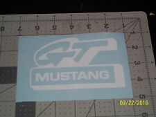 "Mustang GT 5"" Vinyl Decal sticker laptop windows wall car boat"