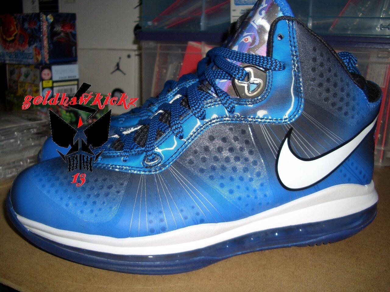 2011 - nike air max lebron viii 8 v / 2 asg nba all - star tesoro blu