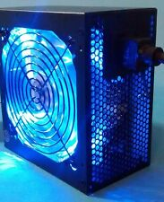 SHARK 1000W Quiet Blue LED Fan 2x PCIe 6-SATA Gaming PC ATX/EPS 12V Power Supply