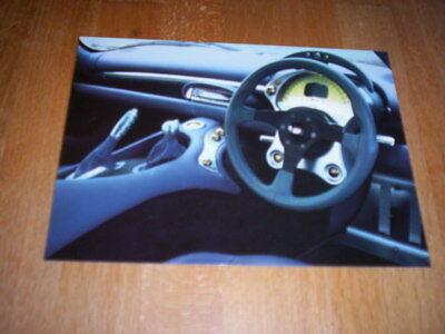 Aspirante Orig Werks Cartolina Info Scheda Tvr Tuscan Speed Six'99, + Dati, Cruscotto- Possedere Sapori Cinesi
