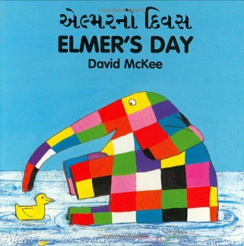 Elmer's Day by McKee, David Board book Book The Fast Free Shipping