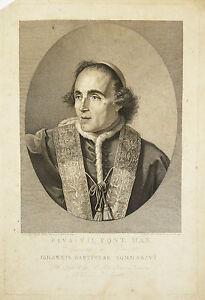Alessandro Contardi (act.1795-1822) Joseph Wicar Pape Pie Vii Pope Vatican Rome