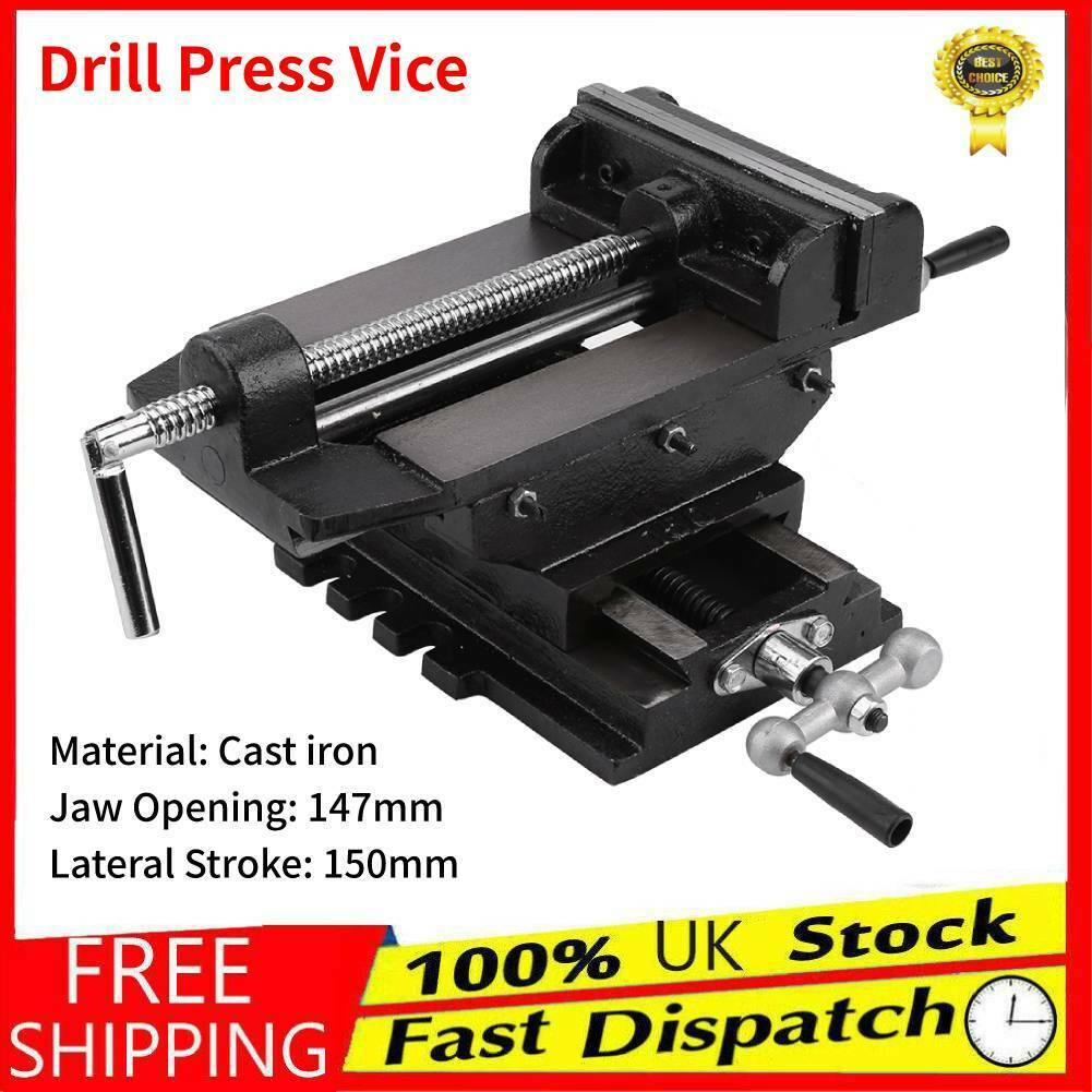 "Machine Vice for Pillar Drill Press Hand Clamp 63mm 2-1//2/"" Vise TH018"