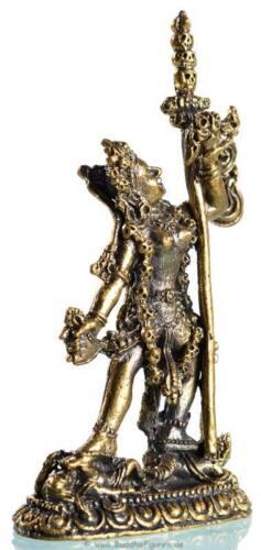 Statue Höhe 8 cm aus Messing Handarbeit aus Nepal Vajra Yogini  Buddha Figur