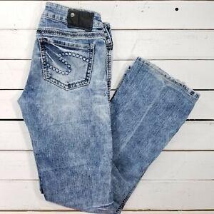be472180 Silver Jeans Frances 18