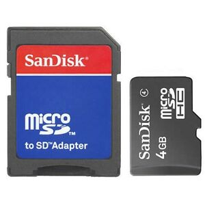 New-SanDisk-Class4-4GB-Micro-SD-TF-Flash-Memory-Card