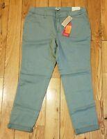 Womens Sage Woolrich Sunday Chino Pants Size 10 $79