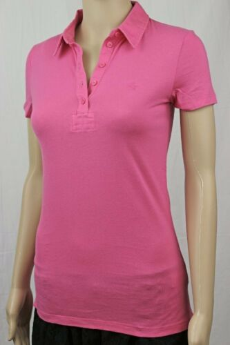 Tommy Hilfiger Womans Pink 5 Button Polo ~NWT~