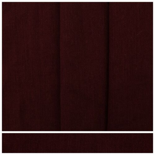 Maroon Curtain Fabric Linen Blend 3 metres wide Upholstery Cushion Material