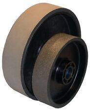 BUTW 8 x 2 x 600 grit diamond soft flex lapidary grinding wheel E