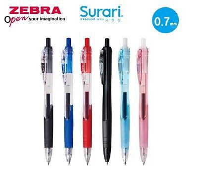 Black ZEBRA Surari 0.7mm Japan Import