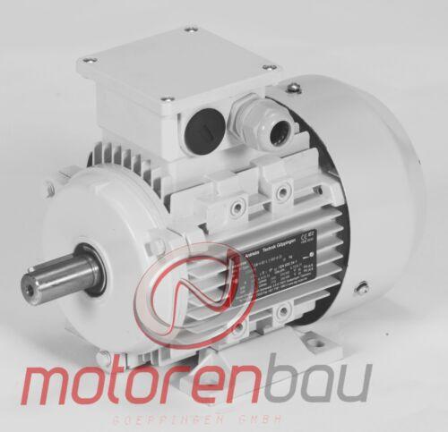 1,1kW B3 1000 U//min Drehstrommotor Energiesparmotor IE3 Elektromotor 90L