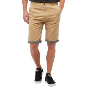 Herrenmode Fluid Twill Shorts With Chambray Trim Stone Medium Td180 Dd 05 GläNzend Shorts & Bermudas